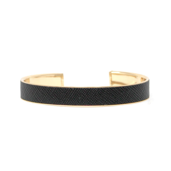 Faux Leather Skin Mini Cuff