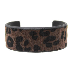 Printed Animal Hair Cuff