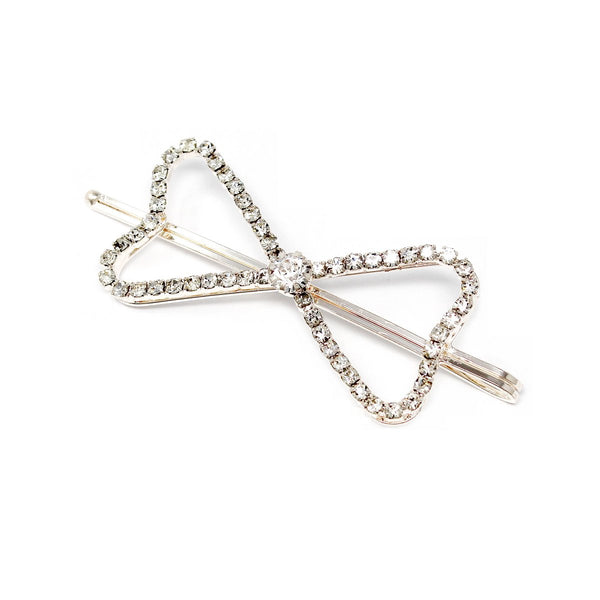 Diamond Bow Hair Pin