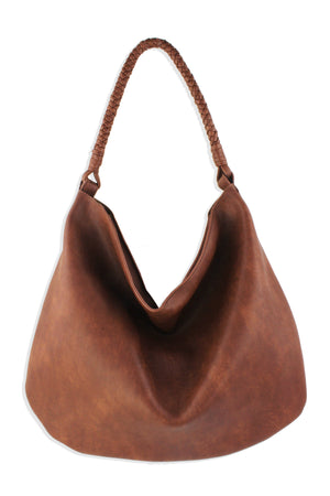 Braided Handle Hobo