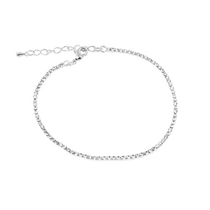Dainty Diamonds Anklet