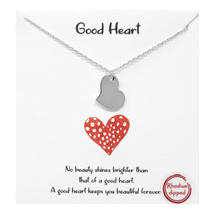 Good Heart Carded Necklace