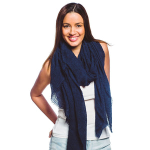 Summer Nights Frayed Scarf