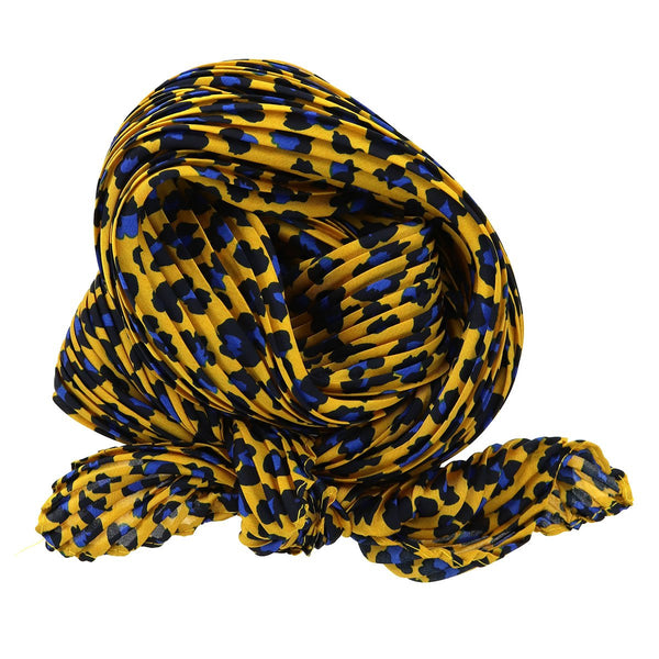 Animal Explosion Pleated Neck Scarf