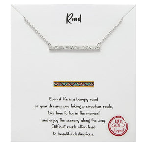 Road Carded Necklace