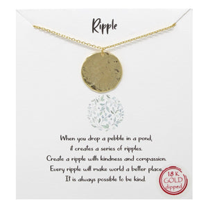 Ripple Carded Necklace