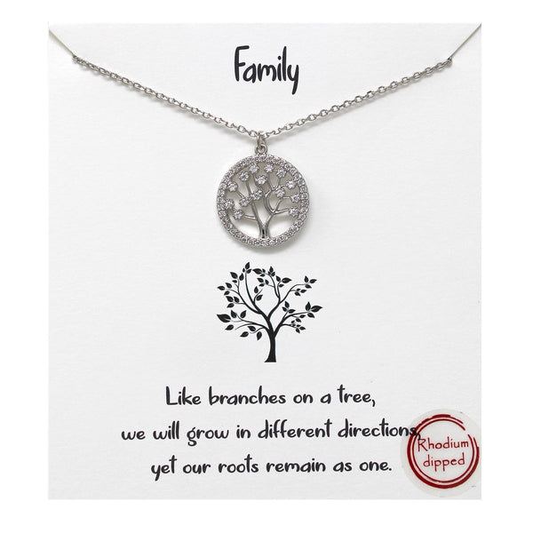 Family Carded Necklace