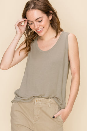 Lightweight Sweater Tank