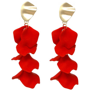 Floating Petals Statement Earrings