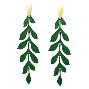 Dripping Leaves Earrings