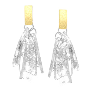 Dripping Glass Earrings