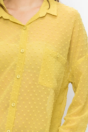 Dots Button Down Shirt