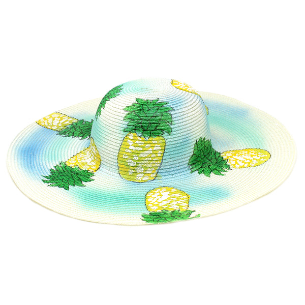 Pineapples in the Sky Sun Hat