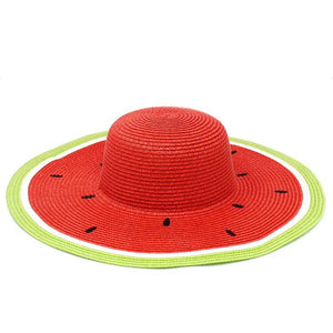 Watermelon Wide Sun Hat