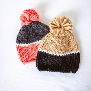 Cozy Colorblock Beanie