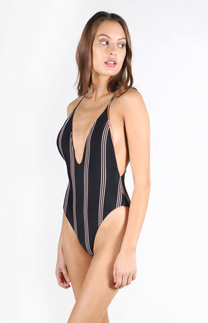 Cali Reversible One Piece Swim Suit