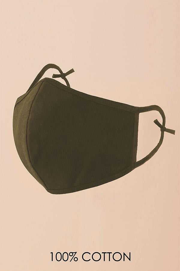 Olive Fashion Mask (Washable)