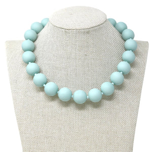 Frosted Mega Bead Necklace