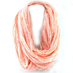 Distressed Infinity Scarf
