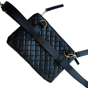 Quilted 3 Sisters Convertible Bag