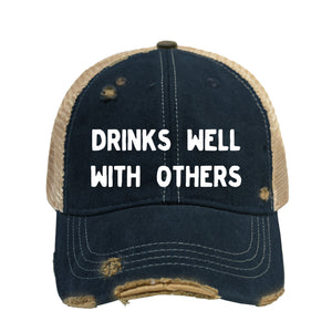 Drinks Well BB Hat