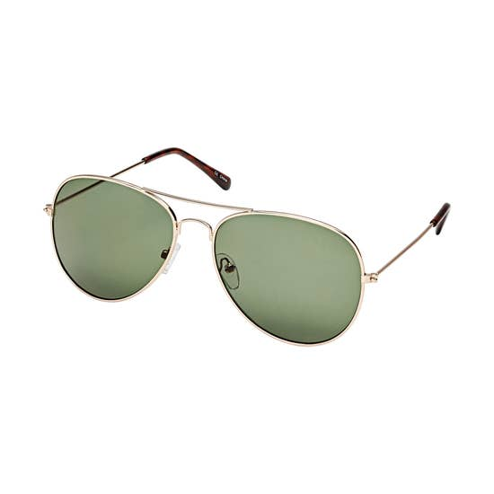 Petite Traditional Aviator Sunglasses