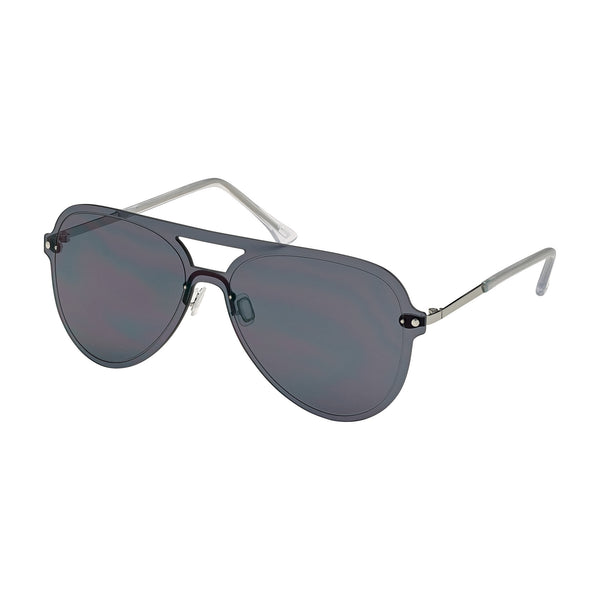 Rimless Lightweight Aviator Sunglasses