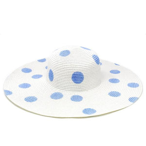 Polka Dot Floppy Sun Hat