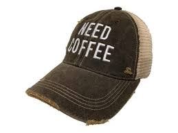 Need Coffee BB Hat