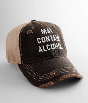 May Contain Alcohol BB Hat