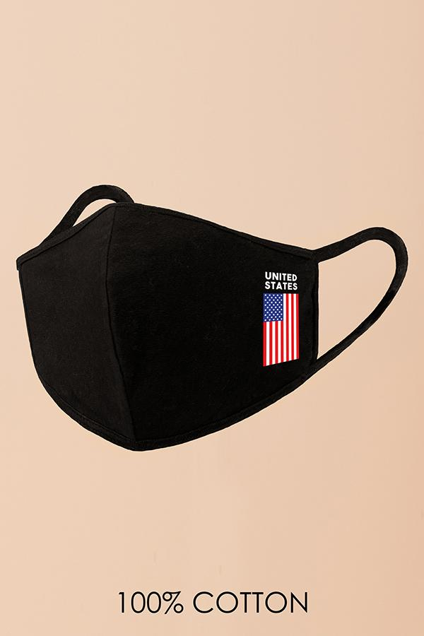 US Flag Fashion Mask (Washable)