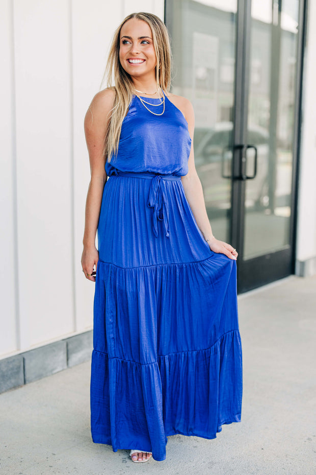 Royal-ty Maxi Dress