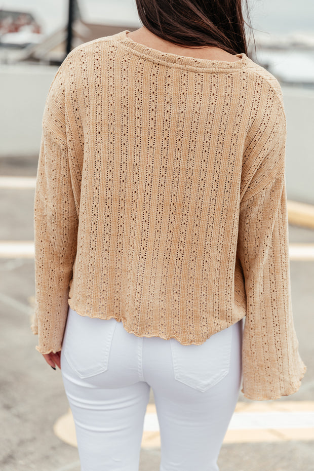 Bring it on Knit Top