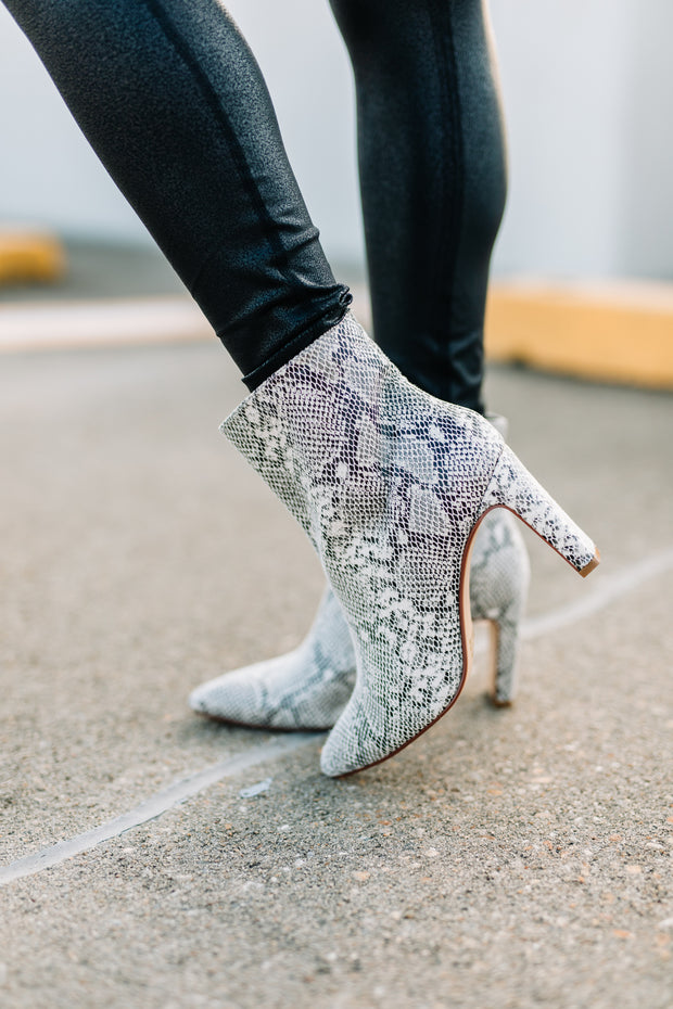 Chinese Laundry Erin Snake Bootie - Shop Amour Boutique Online
