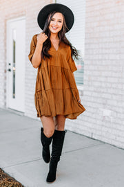 Bronzed Babe Dress - Shop Amour Boutique Online