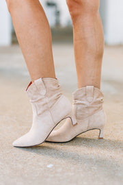 Louie Kitten Heel Bootie - Shop Amour Boutique Online
