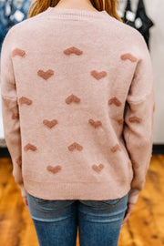 All the Heart Eyes Sweater - Shop Amour Boutique Online
