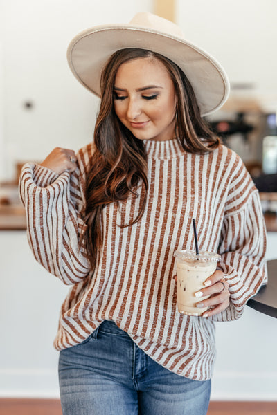Spiced Chai Latte Sweater
