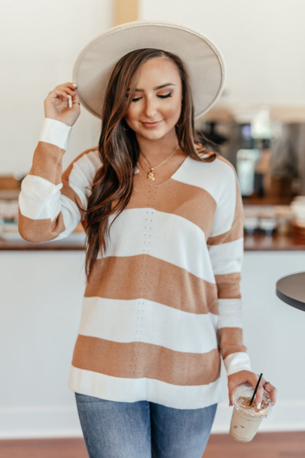 A Touch of Toffee Sweater