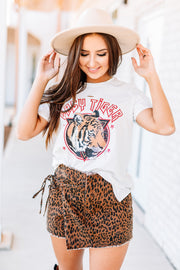 Retro Easy Tiger Distressed Graphic Tee