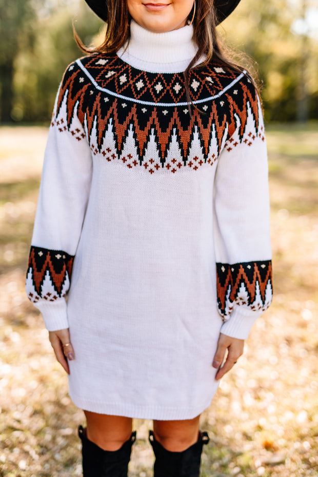Catching Feelings Sweater Dress - Shop Amour Boutique Online