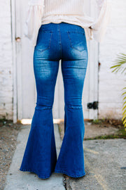 Bell Bottom Jeans - Shop Women dresses, Women essentials, tops, bottoms, shoes & more..