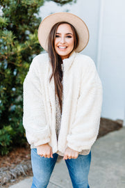 Warm & Fuzzy Jacket - Shop Amour Boutique Online