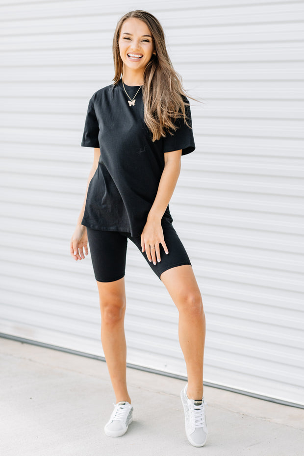 All the Comfort Biker Set: Black - Shop Amour Boutique Online