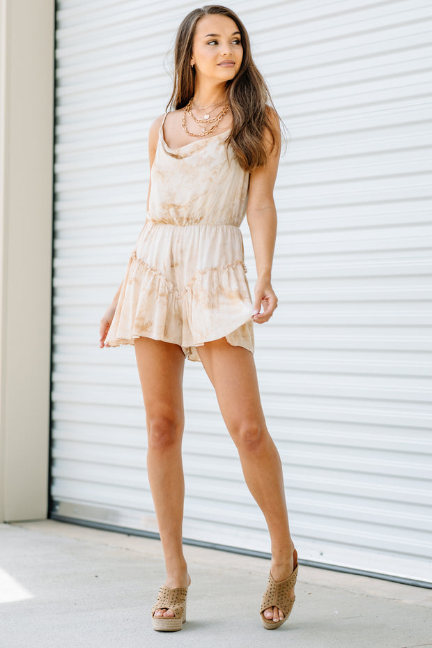 What dreams are Made of Tie Dye Romper - Shop Amour Boutique Online