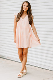 Blushing Babydoll Dress - Shop Amour Boutique Online