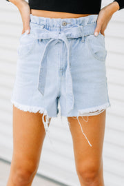 The Perfect Paperbag Mom Shorts - Shop Amour Boutique Online