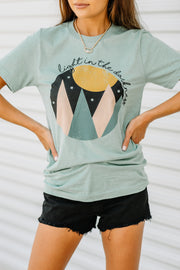 Light in the Darkness Graphic Tee - Shop Amour Boutique Online
