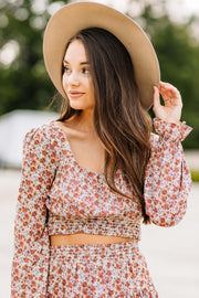 Ditsy Floral Top - Shop Amour Boutique Online
