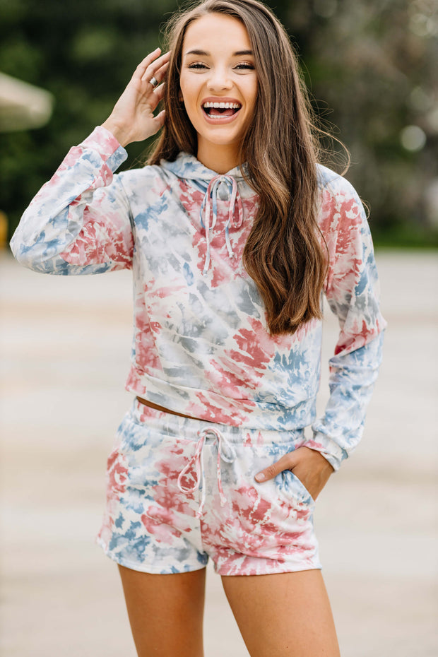 Time to Relax Tie Dye Hoodie - Shop Amour Boutique Online